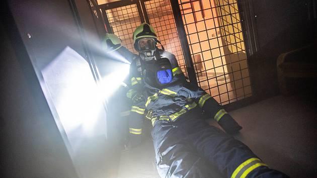 Otevření nového hasičksého polygonu v Rychnově nad Kněžnou.