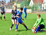 Krajský přebor mladšího dorostu ve fotbale: Rychnov nad Kněžnou - Hořiněves/Dohalice.