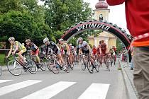 Dva závody Českého poháru v silniční cyklistice v Rokytnici v Orlických horách.