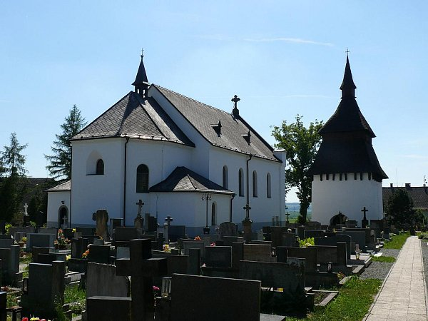 Bílý Újezd, kostel Proměnění Páně