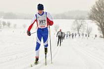 Závody pořádané Ski Skuhrov nad Bělou se konaly v mrazivém, ale slunečném počasí
