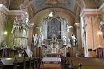 Kostel sv. Jana Křtitele v Orlickém Záhoří.