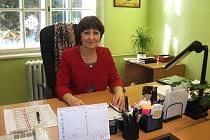 Vedoucí pobytového střediska v Kostelci nad Orlicí Ivana Vyhnálková.
