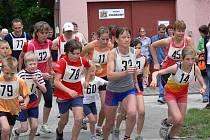 Přespolní běh areálem zdraví Chábory