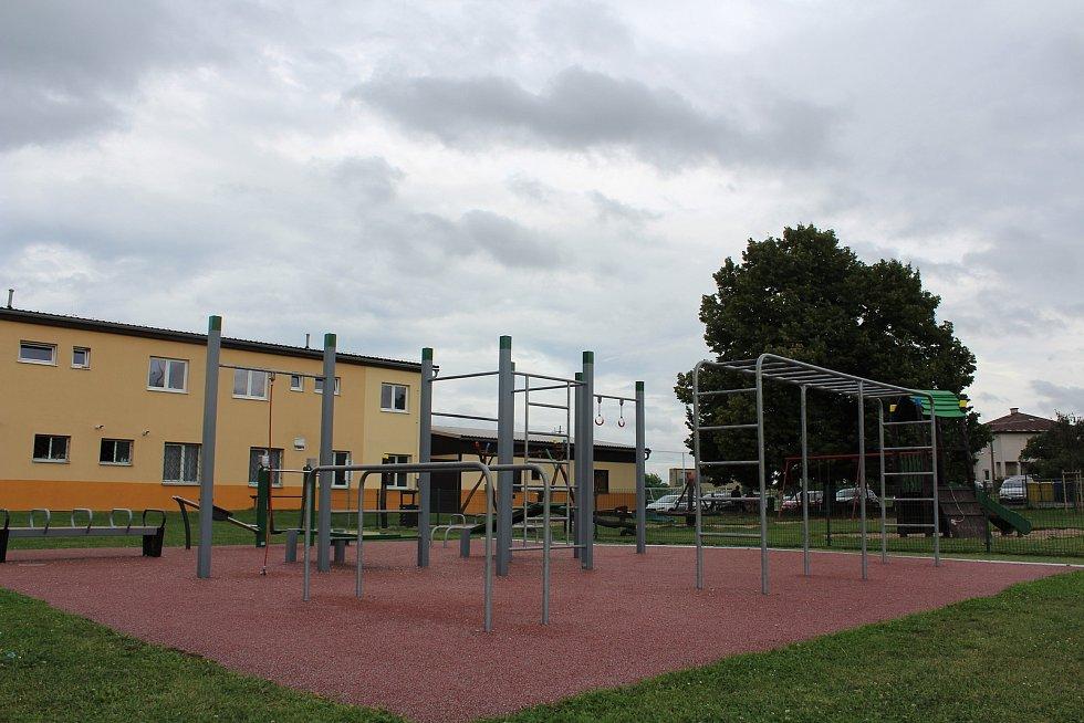 V Solnici vzniklo workoutové hřiště.