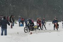 První javornický motoskijöring.