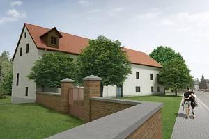 Vizualizace zamýšlené podoby Hrnčířova mlýna.