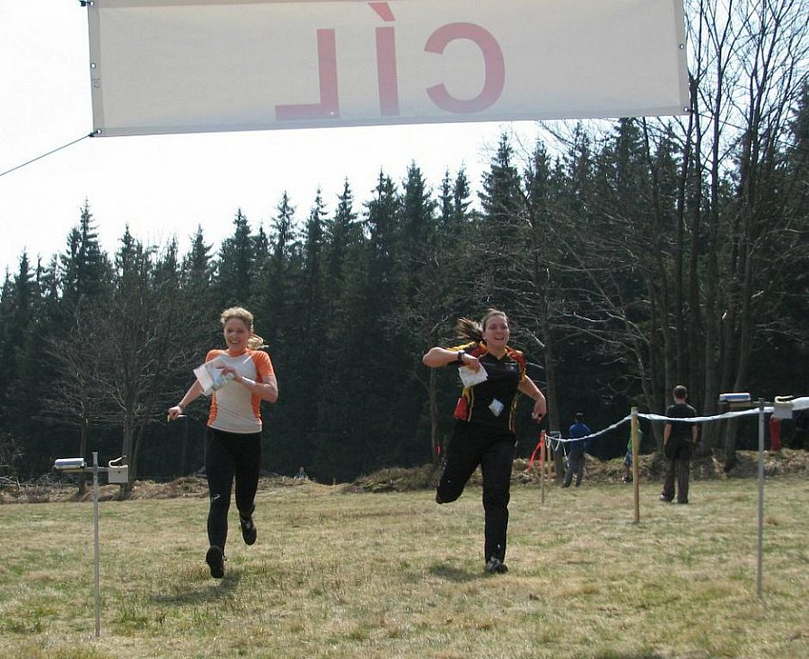 Z 5. závodu Východočeského poháru v orientačním běhu pořádaného na Šajtavě oddílem SOOB Spartak Rychnov nad Kněžnou.