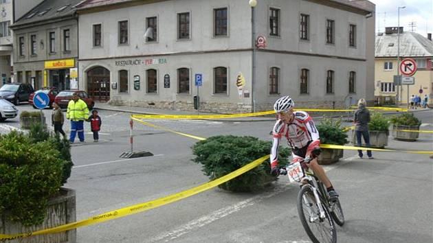 Finálový závod 22. ročníku cyklistického Dobrušského poháru ovládl domácí závodník Ondřej Ptáček.