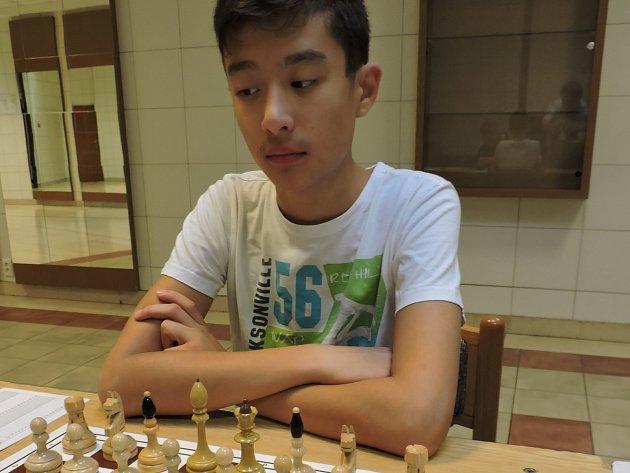 Martin Buločkin, šachista rychnovské Pandy.