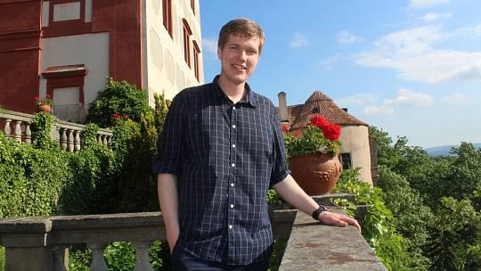 Tomáš Kořínek, kastelán opočenského zámku.