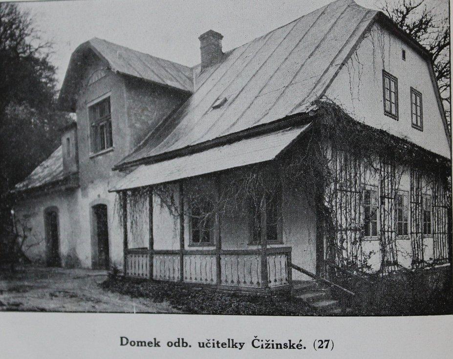 Domek odborné učitelky Karly Čižinské.