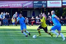 O víkendu pokračuje už pouze nejvyšší okresní fotbalová soutěž.