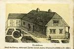 CHAROUZOVSKÝ ŠPITÁL pro chudé v čp. 58, tzv. Charouzův chudobinec, poskytoval svou pomoc nemajetným téměř sto let.