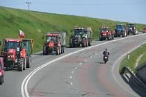 Motoristé jedoucí od Vamberka na Dobrušku či zpět se museli obrnit trpělivostí