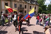 Zámecké slavnosti v Potštejně nabízejí návštěvníkům skvělou podívanou.
