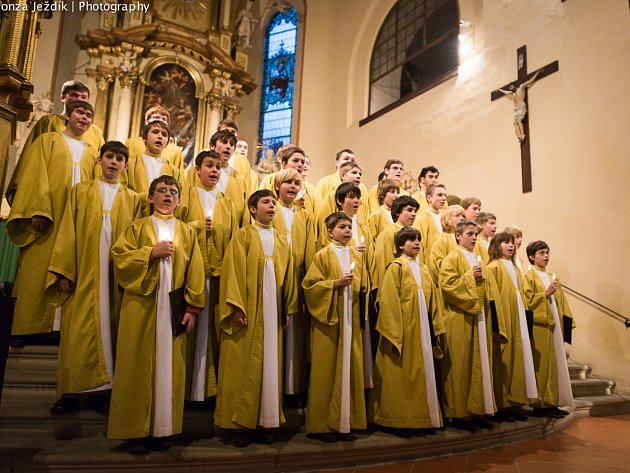 VYPRODÁNO. Poslední koncert v rámci festivalu vážné hudby se těšil velkému zájmu. Chlapecký sbor Boni Pueri vyprodal novoměstský kostel do posledního místa.