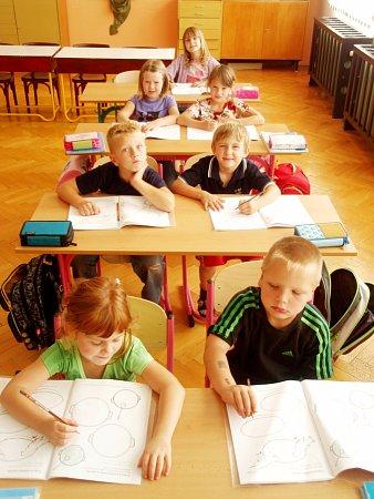 1. třída ZŠ Ohnišov