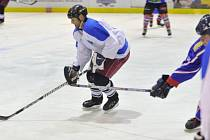 Gól Dušana Felcmana (na snímku) ze samostatného nájezdu rozhodl o postupu týmu HC Častolovice do semifinále letošního ročníku Rychnovské hokejové ligy.