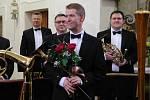 Vnuk legendárního skladatele v roli dirigenta servíroval s Brass-bandem hudební lahůdky