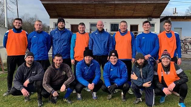 V zimní přestávce se do týmu Lípy nad Orlicí vrátil David Mondík (úplně vpravo dole)
