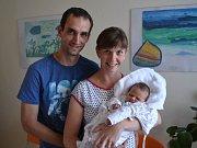 JAKUB TOMAN se narodil 30. května v 11:05 jako druhorozený syn Magdalény a Josefa Tomanových z Klášterce nad Orlicí. Chlapeček vážil 3170 gramů a měřil 50 cm. Tatínek zvládl porod perfektně. Doma se na mladšího brášku těšil Honza.