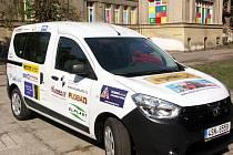 Sociální automobil pro Sociální služby Rychnova nad Kněžnou.
