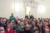 Prezentace o obchvatu v Rychnově.