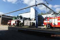 Požár sila napáchal škodu za 600 000 korun.