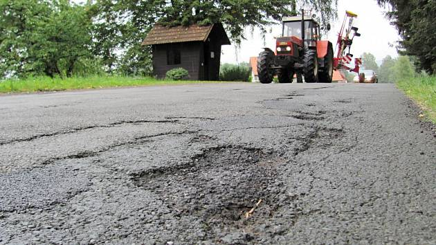 Silnice hrůzy u Javornice.