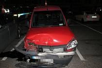 Měsíc za volantem: 2,5 promile alkoholu v dechu a dvě nehody.