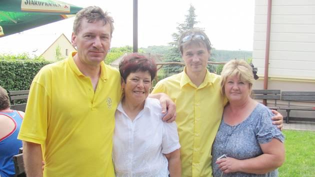 V sobotu se konalo další přátelské setkání dvou spřátelených obcí - Lible a Vlčnova.