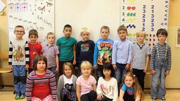 ZŠ Masarykova, Rychnov nad Kněžnou - děti z 1. A.