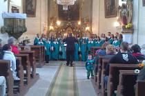 Koncert Carminy v Lukavici.