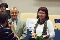 JANA NĚMCOVÁ z Neratova obdržela ve čtvrtek první místo v kategorii Osobnost sociální oblasti.