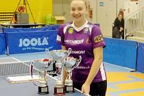Zdena Blašková se třemi tituly.