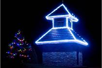 Adventní rozsvícení vánočního stromku v Bolehošti