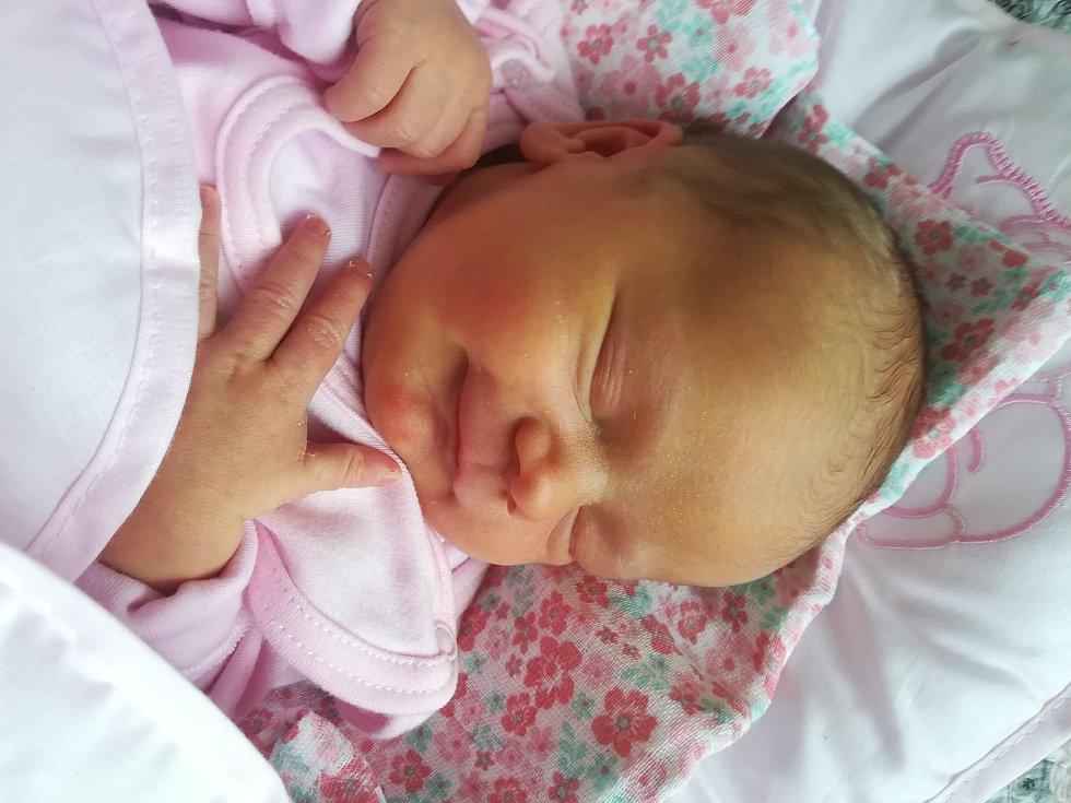 Eliška Divíšková se narodila 2.1. 2021 v 0:02 hodin. Vážila 3 550 g a měřila 51 cm. Hrdí rodiče pocházejí z Kunvaldu. Doma Elišku přivítala sestra Daniela a brácha Dominik. Tatínek byl u porodu a vedl si perfektně.