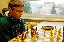 Vladislav Martyniuk patří mezi největší opory šachové mládeže rychnovské Pandy.