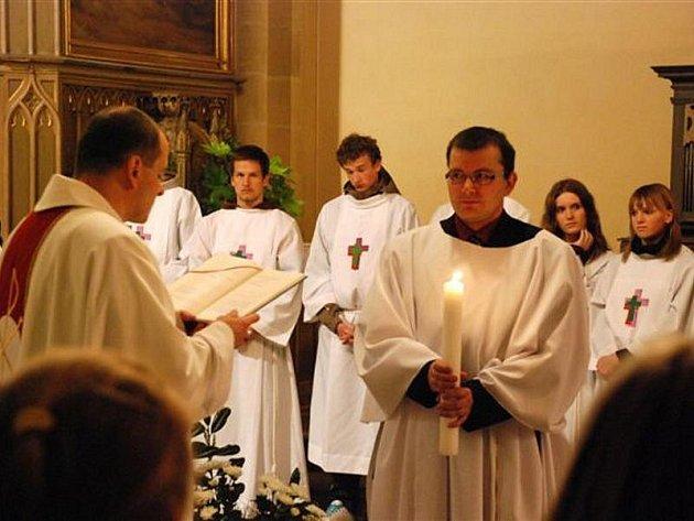 Mše svatá na Bílou sobotu