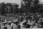 """Slavnost """"100 let bysterské hudby"""", která se konala v roce 1962."""