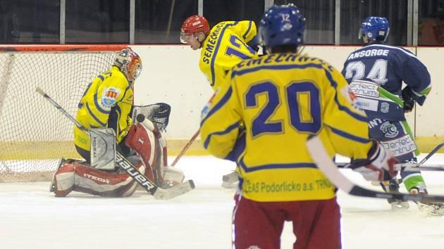 Opočenští hokejisté. Ilustrační foto