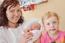 PAVEL KOPECKÝ: Manželé Jaroslava a Pavel z Uhřínovic  přivedli na svět syna. Narodil se  8. května v 10.32 hodin s váhou 3,17 kg a délkou 51 cm. Tatínek to u porodu a zvládl na jedničku. Na brášku se těšila Káťa