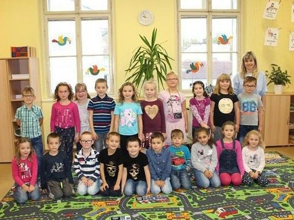Základní škola Opočno - žáci ze třídy 1.B.