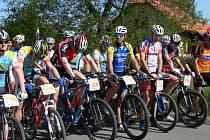 Devatenáctý ročník cyklistického Dobrušského poháru – Memoriálu Martina Hockého pokračoval závodem horských kol v Mělčanech