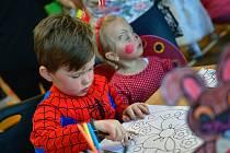 Dětský karneval v Borohrádku.