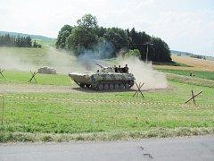 V Houdkovicích bylo k vidění více než 50 kusů vojenské techniky.