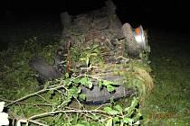 Nehoda vozidla u Javornice