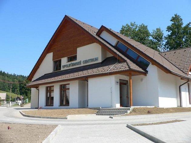 Takto vypadá Společenské centrum ve Skuhrově nad Bělou právě teď.