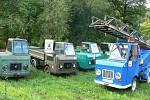 Sraz majitelů malých dopravníků z bývalé NDR.